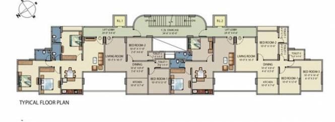 Baria M Baria Estate Cluster Plan
