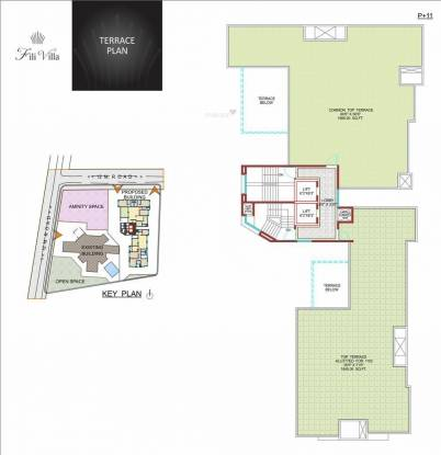 Nirmiti Fili Villa Cluster Plan