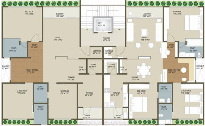 Ganesh Maple County II Cluster Plan
