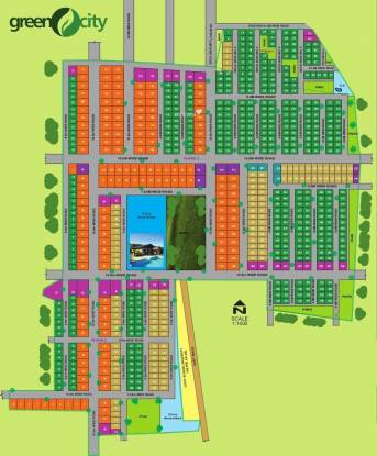 Aashrithaa Green City Master Plan