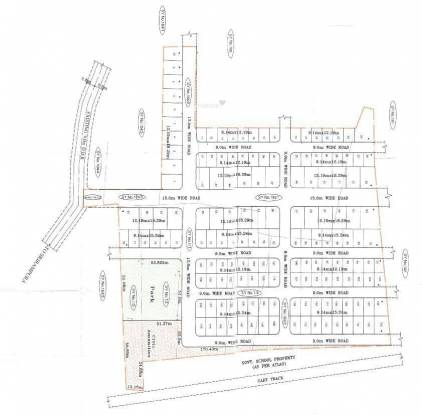 Aashrithaa Green City Site Plan