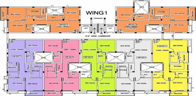 Vishram Oasis Cluster Plan