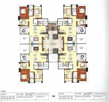 Pashankar Yin Yang Cluster Plan