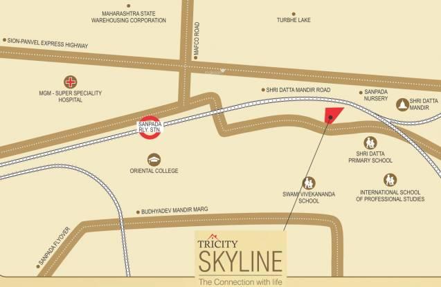 Tricity Skyline Location Plan