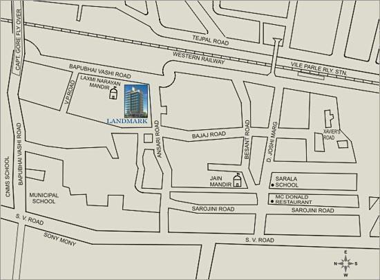Darvesh Landmark Location Plan