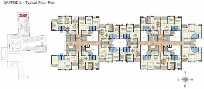 Embassy Residency Cluster Plan