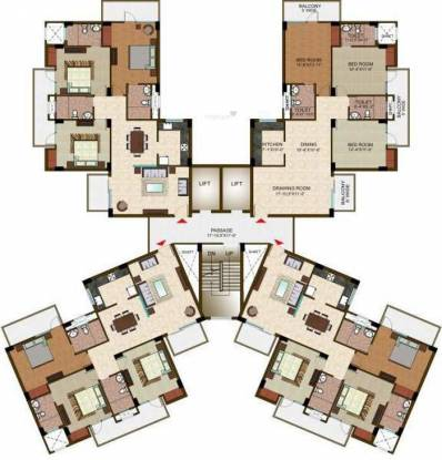 Ramprastha The View Cluster Plan