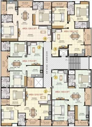 Keerthi JC Keerthi Arcade Cluster Plan
