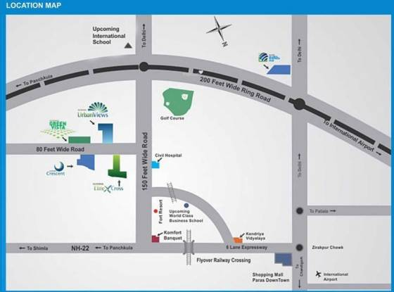 Sushma Crescent Location Plan