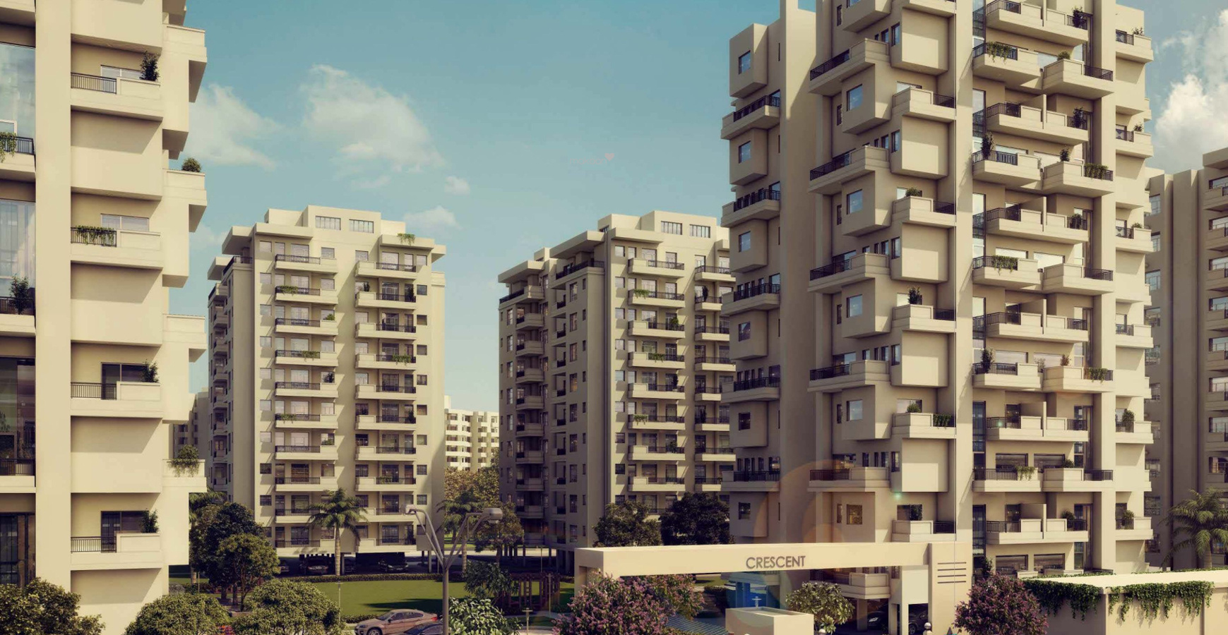 1690 sq ft 3BHK 3BHK+2T (1,690 sq ft) + Pooja Room Property By Nirmaaninfratech In Crescent, Zirakpur