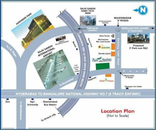 Vision Vision Palm Meadows Location Plan