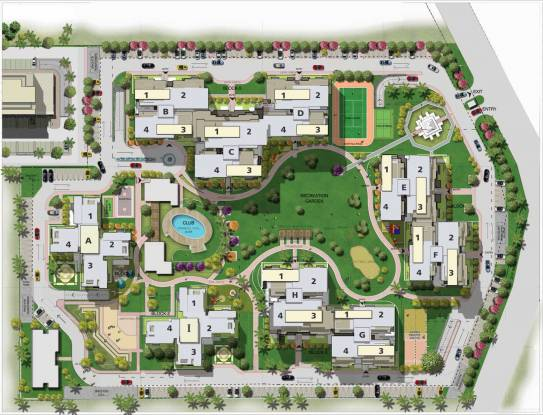 Sushma Chandigarh Grande Layout Plan