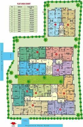 Goldwin Jubilee Residency Cluster Plan