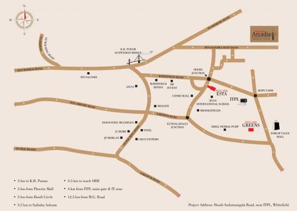 Skylark Arcadia Phase 2 Location Plan