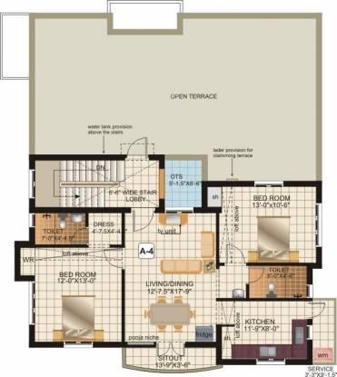 Engineers Westwood Residency Phase III Cluster Plan