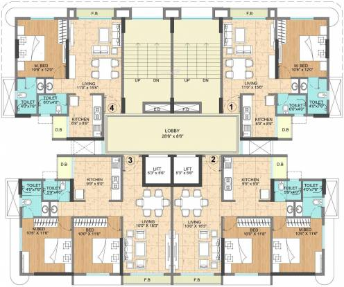 Vijay Vatika Cluster Plan
