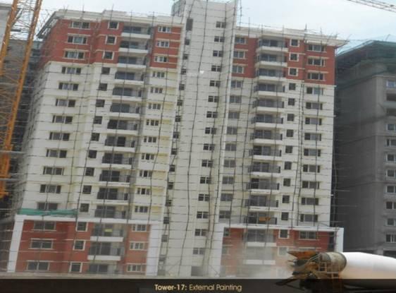 Prestige Ferns Residency Construction Status