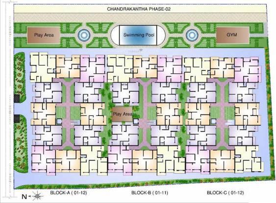 Sowparnika Chandrakantha Cluster Plan