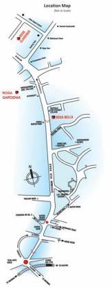 Rosa Gardenia Location Plan