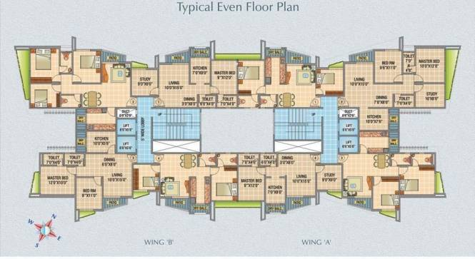 Raj Raj Horizon Cluster Plan