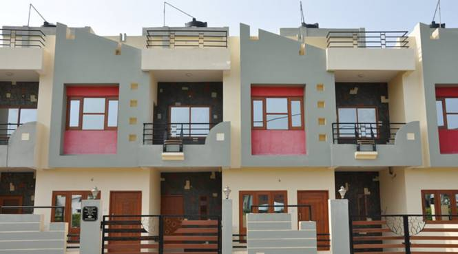 Sarthak Sarthak Residency Elevation