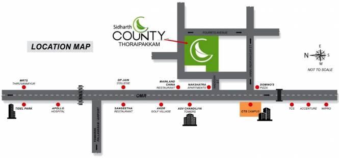 Sidharth County Location Plan