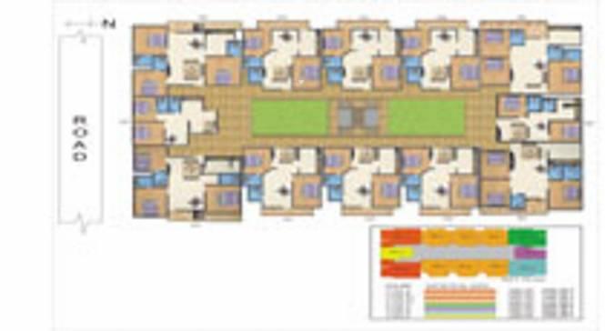 Akash Heritage X Cluster Plan