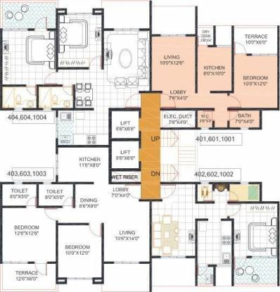 Sankalp Shree Vitthal Heritage Cluster Plan