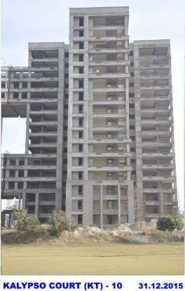 Jaypee The Kalypso Court Construction Status