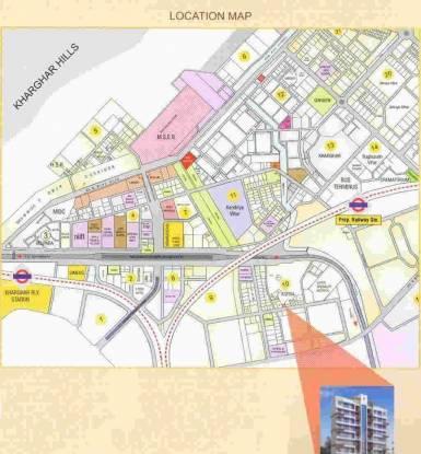 Gharat Gharat Shree Jeevdani Heights Location Plan