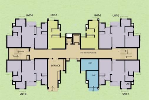 Ansal Sushant Media Enclave Cluster Plan
