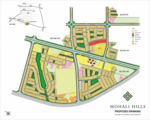 Emaar The Villas Master Plan