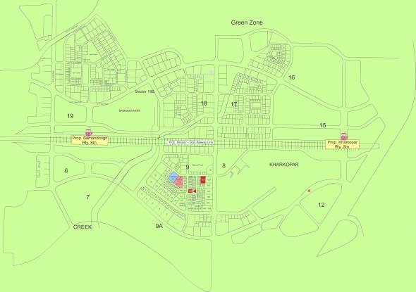 EV Crest Location Plan