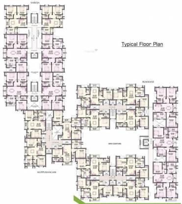 Indu Babas Gardens Cluster Plan