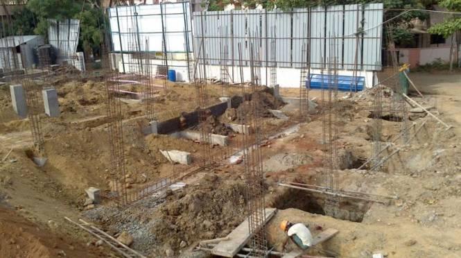 Indu Babas Gardens Construction Status