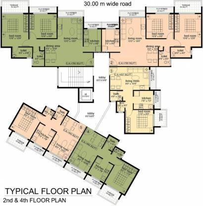 Yash Sai Plaza Cluster Plan