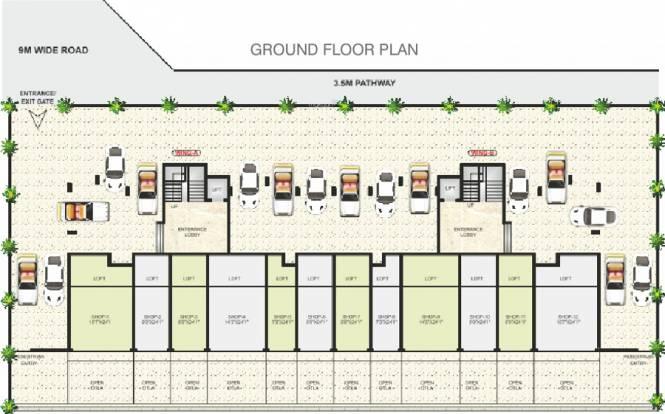 Devkrupa Dev Drishti Cluster Plan