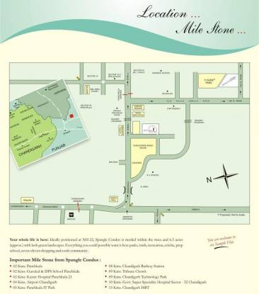 Sandwoods Spangle Condos Location Plan