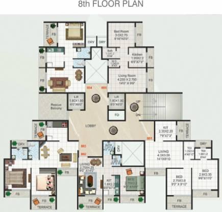 Devkrupa Dev Aashirwad Cluster Plan