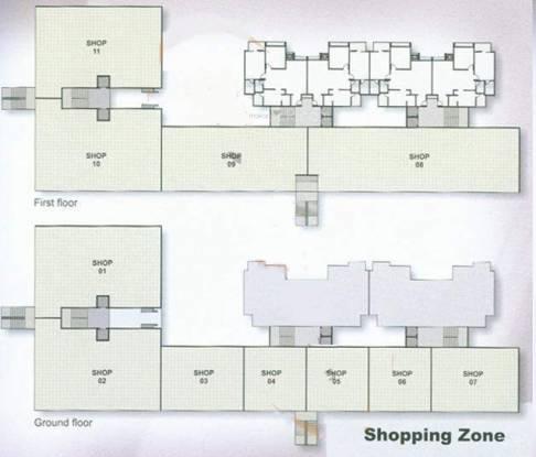 Devnandan Altezza Cluster Plan