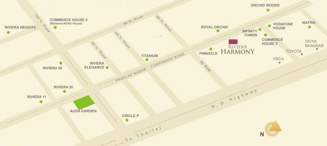 Goyal Riviera Harmony Location Plan