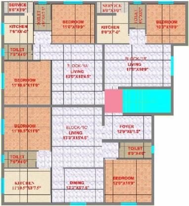 CC SP Palace Cluster Plan