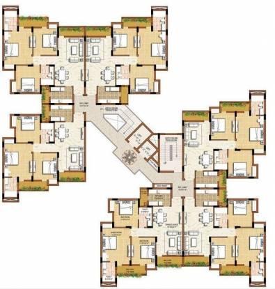 Omaxe Grand Cluster Plan