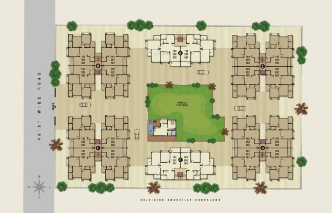 Kamnath Sepal Exotica Site Plan