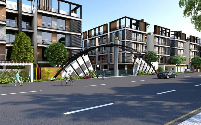 Shree Balaji Agora Residency Elevation