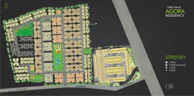 Shree Balaji Agora Residency Site Plan