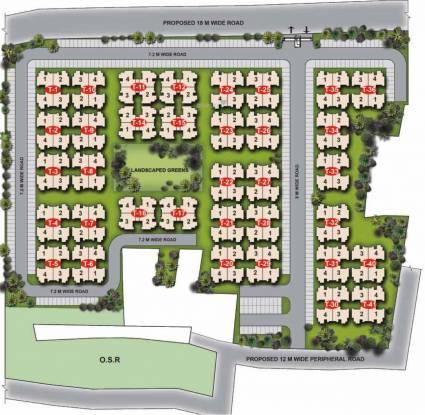 Unitech Unihomes 2 Site Plan