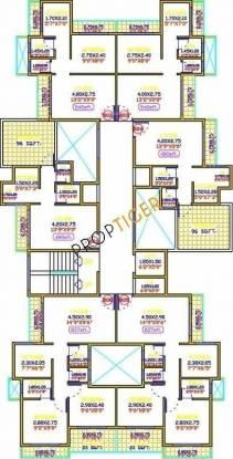 Shree Nilumi Shiv Prakash Residency Cluster Plan