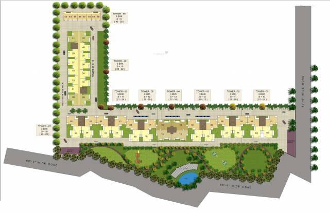 SBP Southcity Layout Plan
