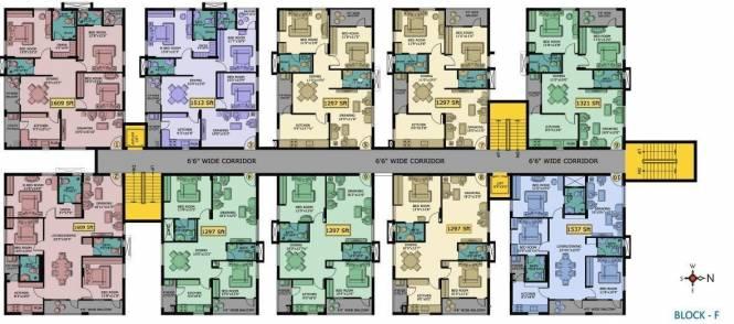 Shanta Satellite Township Block F Cluster Plan